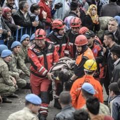 Grote mijnramp in Turkije