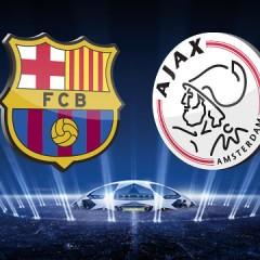 FC BARCELONA VS AFC AJAX (informatie)