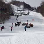 Oostenrijks kind uit de skilift gevallen